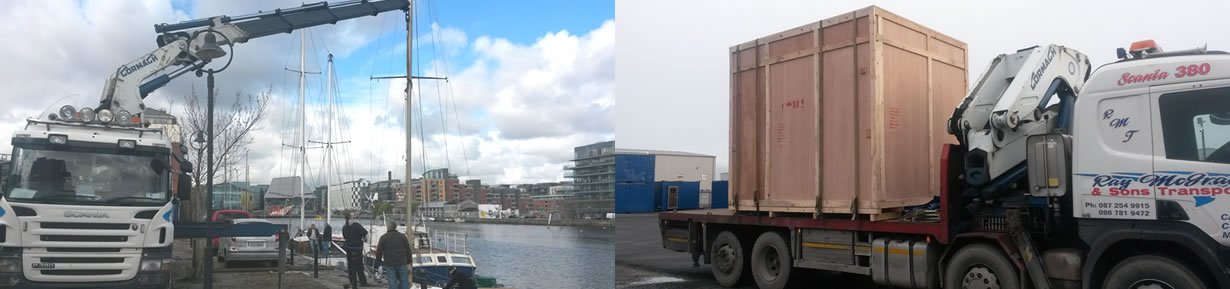 Ray McGrath Transport - Hiab Crane Hire Dublin, Ireland